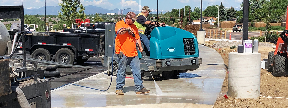Cam Services, Colorado - Power Washing & Scrubbing